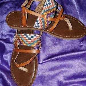 Mossimo Multi Colored Sandals